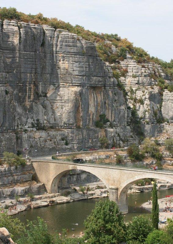 L\'Ardèche à Balazuc