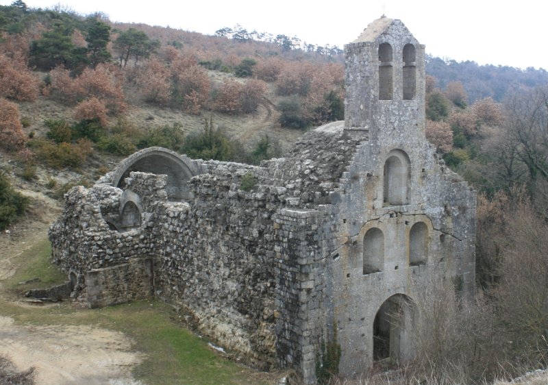 Abbaye à Alleyrac