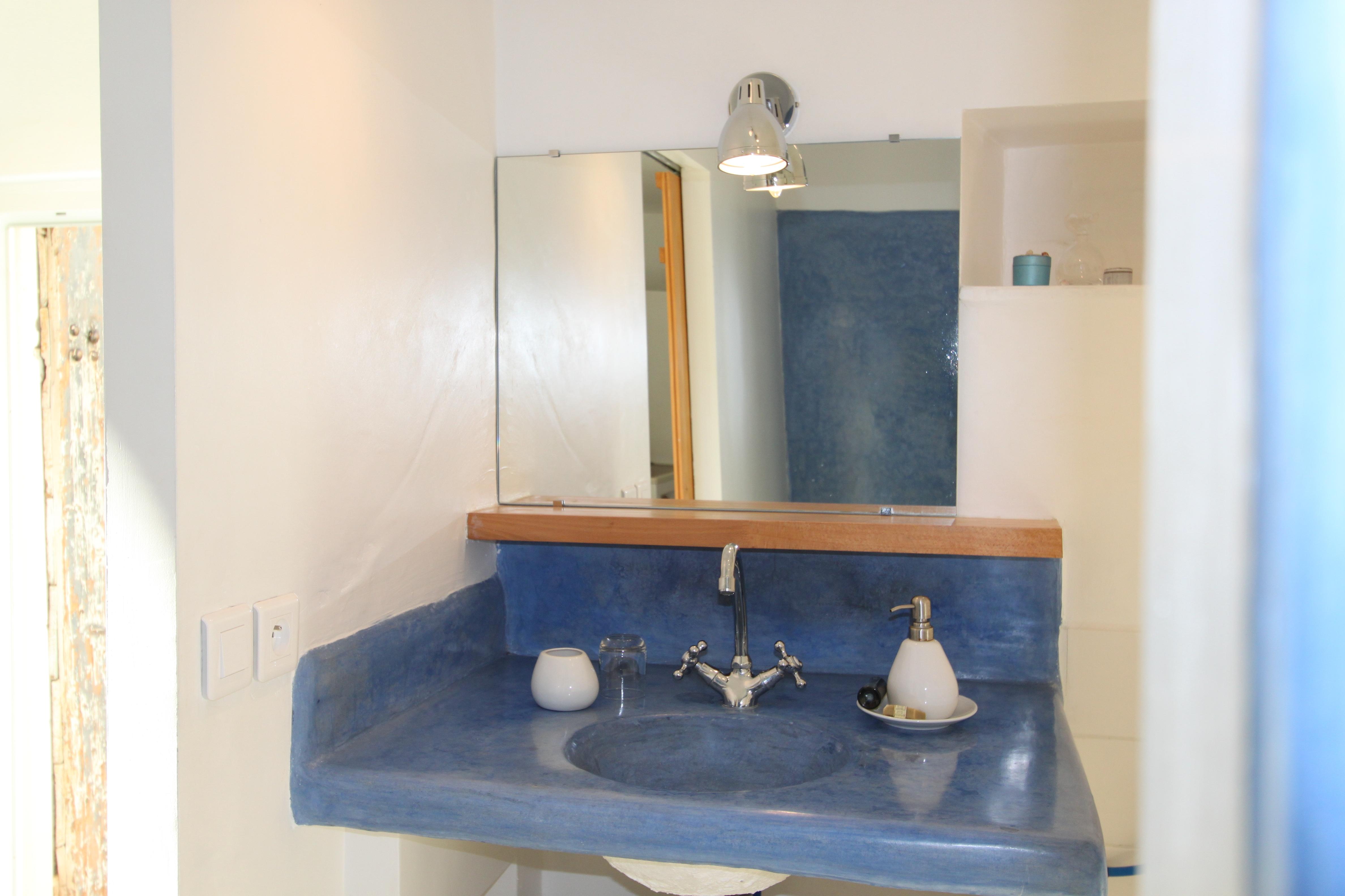 Salle d'eau de la chambre d'hôtes