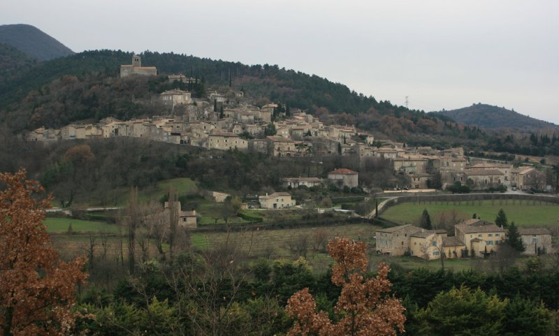 Mirmande classé plus beaux villages de France