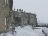 Les remparts Nord sous la neige