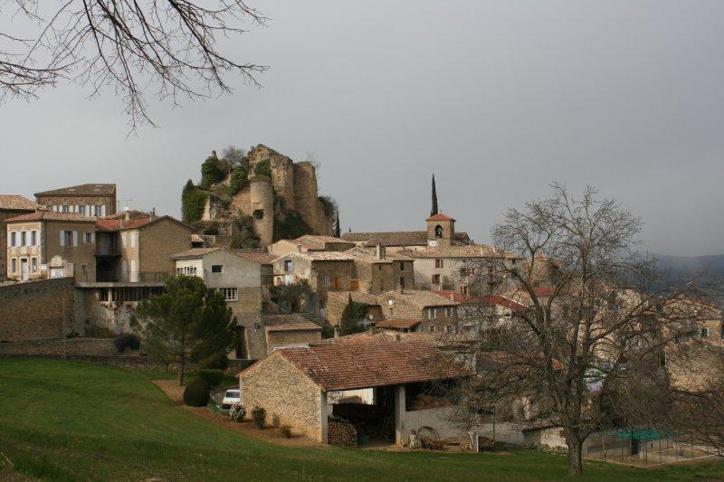 Le village botanique de Chabrillan