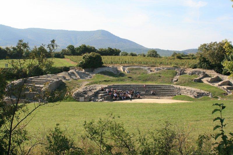 Site romain d\'Alba la Romaine