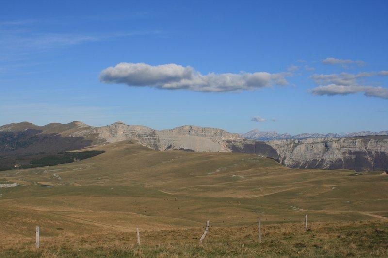 Le Vercors : plateau d\'Ambelle
