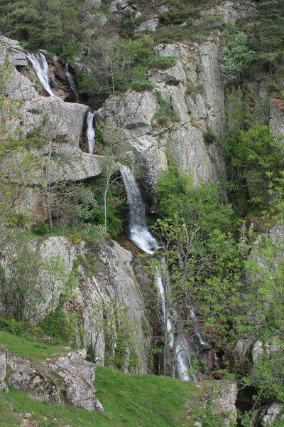 Cascades du château de Rochebonne