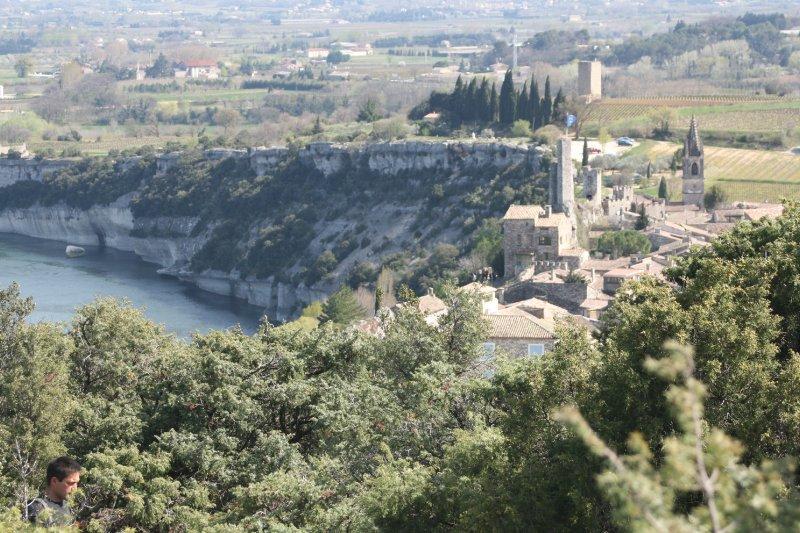 Aiguèze, classé plus beaux villages de France
