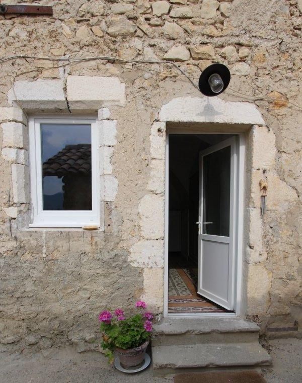 L'entrée du gîte chez Henriette & Totor