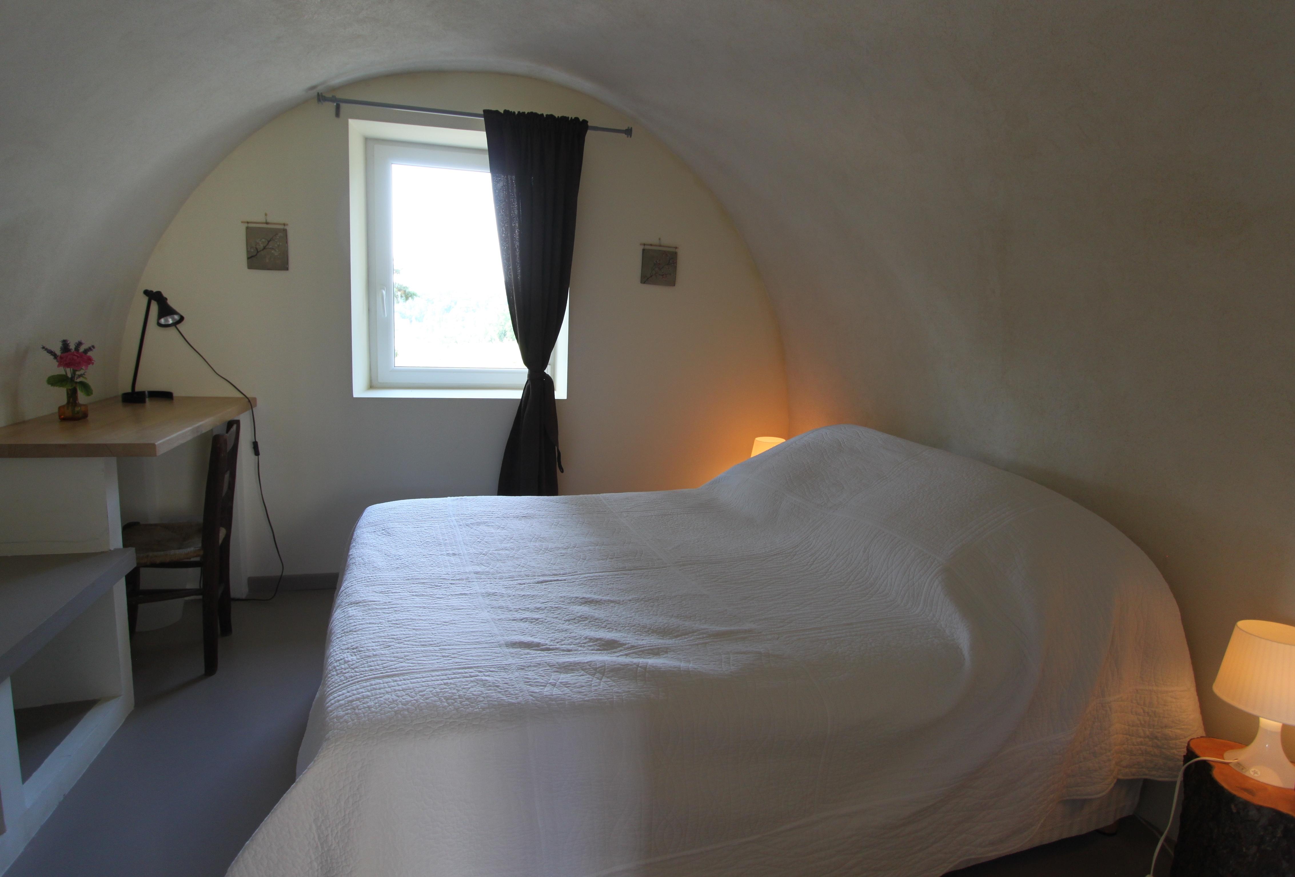 Une des 3 chambres : la chambre voûtée