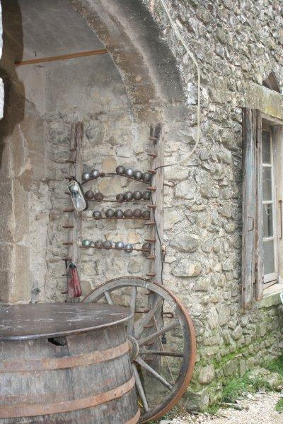 Dans le hameau de Platet