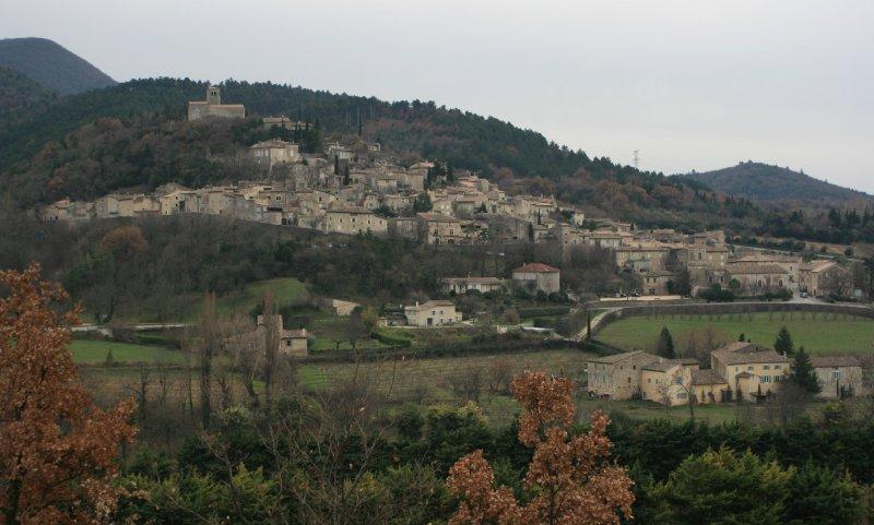 Mirmande classé plus beaux villages de France