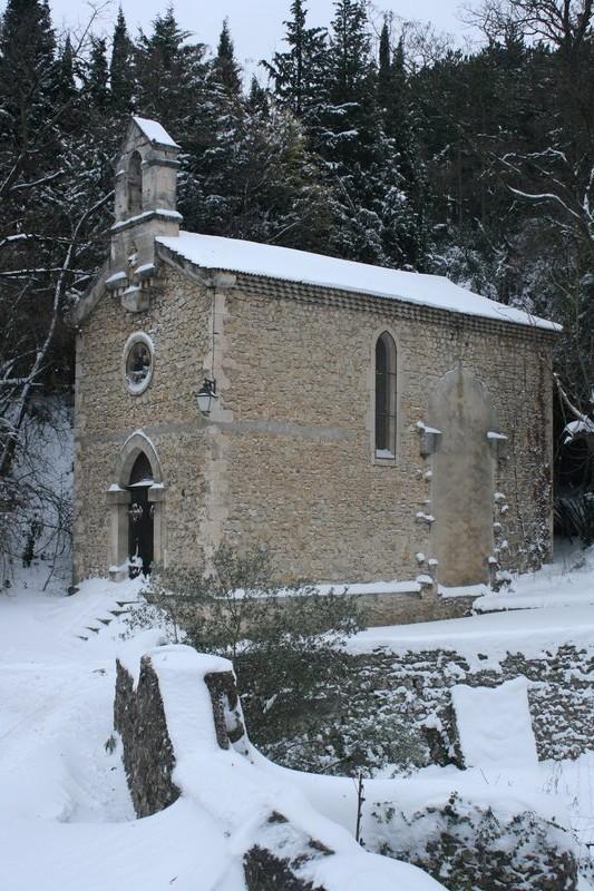Mirmande, Chapelle de Ste Lucie